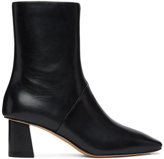 3.1 Phillip Lim Black Leather Tess Boots