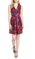 Draper James Women's Autumn Bloom Love Circle Dress