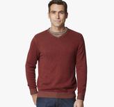 Johnston & Murphy Plaited V-Neck Sweater
