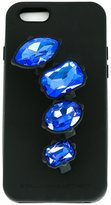 Stella McCartney embellished stone iPhone 6 case - women - Silicone - One Size