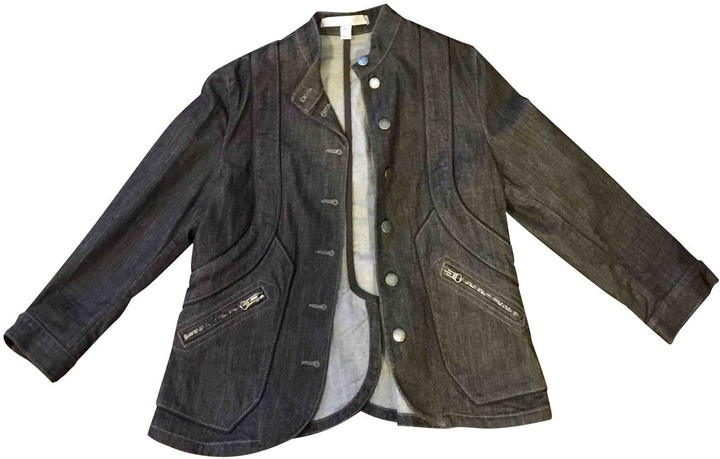 H&M Stella Mc Cartney For Stella Mc Cartney For Black Cotton Jacket for Women
