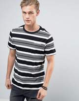 Converse Stripe T-Shirt in Gray 10003393-A01