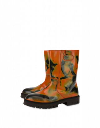 Moschino Abrasive Calf Boots