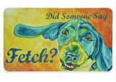 Bacova Fetch 17.5-Inch x 29-Inch Kitchen Mat in Aqua