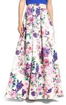 Eliza J Women's Floral Print Ball Skirt