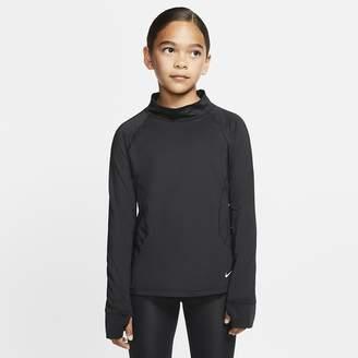 Nike Girls' Long-Sleeve Top Pro Warm