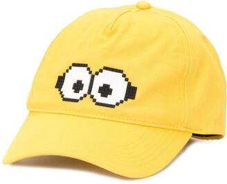 Mostly Heard Rarely Seen 8 Bit x Minions Tiny Goggles 8-Bit baseball cap
