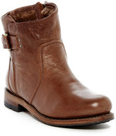 Blackstone Genuine Shearling Lined Leather Boot