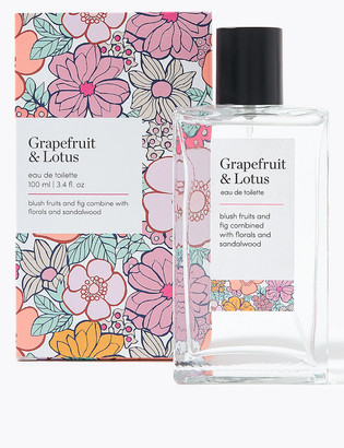Icons M&S CollectionMarks and Spencer Everyday Grapefruit & Lotus Eau de Toilette 100ml