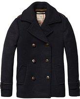 Scotch & Soda R'Belle Girl's Woollen Caban Jacket,128 (Herstellergröße: 8)