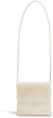 Topshop Pandora Imitation Pearl Crossbody Bag