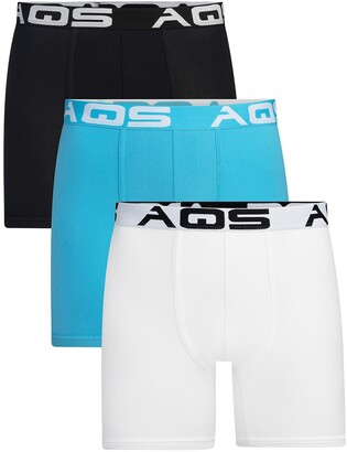 Aqs Classic Fit Boxer Briefs - Pack of 3