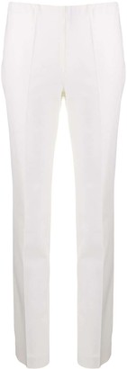 P.A.R.O.S.H. High Waisted Slim-Fit Trousers