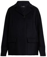 Joseph Caplan wool and cashmere-blend coat