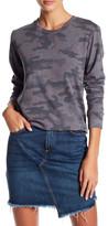Sundry Camo Pullover Sweatshirt