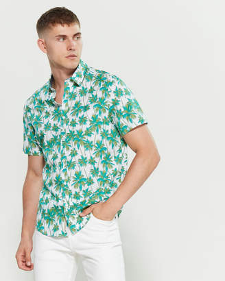 Original Penguin Palm Tree Print Shirt