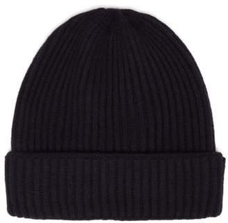 Privee Salle Salle Ribbed Cashmere Beanie Hat - Mens - Navy