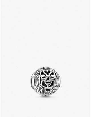 Thomas Sabo Cat onyx sterling silver bead