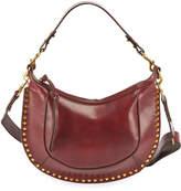 Isabel Marant Naoko Glossy Leather Hobo Bag