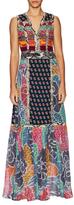 Diane von Furstenberg Amabelle Silk Print Maxi Dress