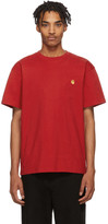Carhartt Work In Progress Red Chase T-Shirt