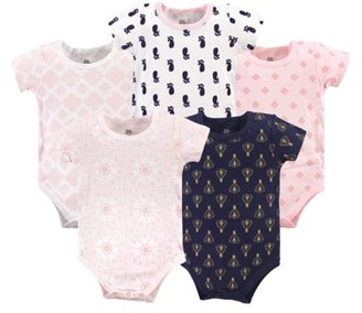 Yoga Sprout Bodysuits, 5pk (Baby Girls)