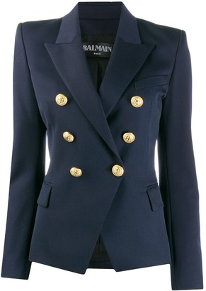 Balmain Buttoned Double-Breasted Jacket