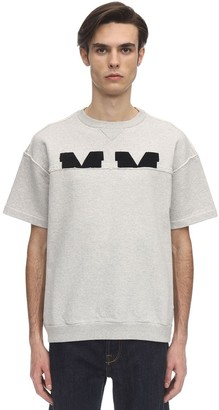 Maison Margiela S/S Cotton Sweatshirt W/Boucle Logo