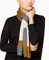 Eileen Fisher Colorblocked Wool Scarf
