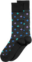 Perry Ellis Men's Patterned Dress Socks