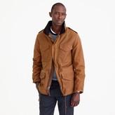 J.Crew Wallace & Barnes waxed cotton M-65 jacket