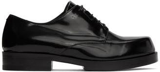 Alyx Black Leather Derbys
