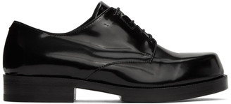 Alyx Black Leather Derbys