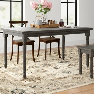 Three Posts Dunwoody Rustic Dining Table