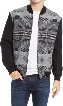 Pendleton Gorge Wool Bomber Jacket