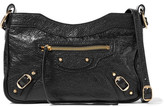 Balenciaga Classic Hip Arena Textured-leather Shoulder Bag - Black