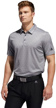 adidas Men's Novelty Print Golf Polo