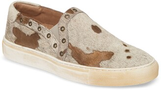 Chocolat Blu Noella Slip-On Genuine Calf Hair Sneaker