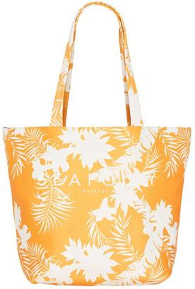 Seafolly Wild Tropics Tote Bag
