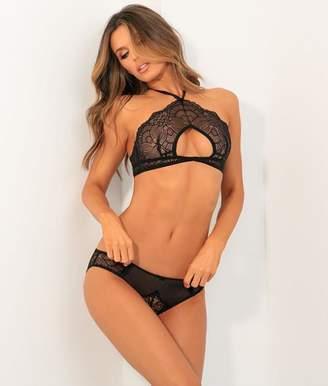 Rene Rofe Bra & Open-Back Bikini Set