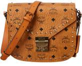 MCM Patricia Studded Outline Visetos Shoulder Bag