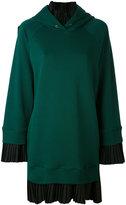 MM6 MAISON MARGIELA pleated trim sweater dress