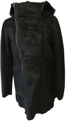 The Kooples Black Shearling Coats