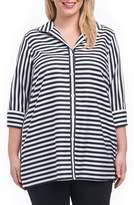 Foxcroft Dani Sateen Stripe Shirt