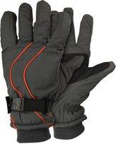Urban Boundaries Men's Micro-Nylon Waterproof / Thinsulate Lined Cuffed Ski Glove