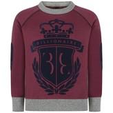 Billionaire BillionaireBoys Burgendy Bright Sweater