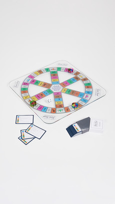 East Dane Gifts Trivial Pursuit Glass Edition