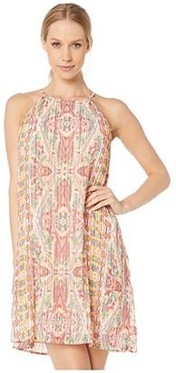 BCBGeneration Pleated Mini Dress TGJ6215229 (Multi) Women's Dress