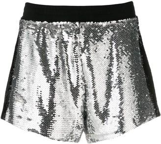 Chiara Ferragni Sequin Shorts