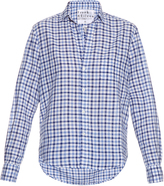Frank And Eileen Eileen gingham cotton-chambray shirt